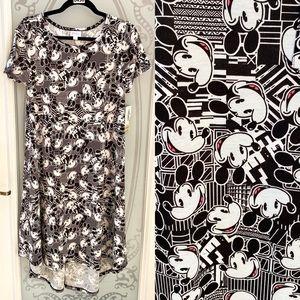 NEW! LuLaRoe Carly Disney Mickey Mouse Swing Dress